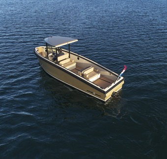 Bought a Hybrid Yacht? This New All-Electric Tender Might Be the Perfect Companion